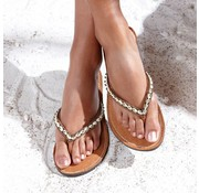 Mzury Mzury slipper Love Ocean Bronze