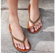 Mzury Mzury slipper Love Bronze