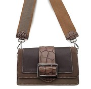 David Jones Tas Gesp David Jones Donkertaupe
