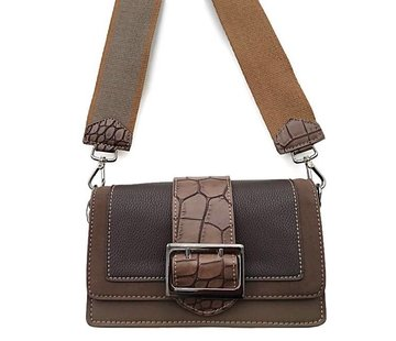 Tas Gesp David Jones Donkertaupe