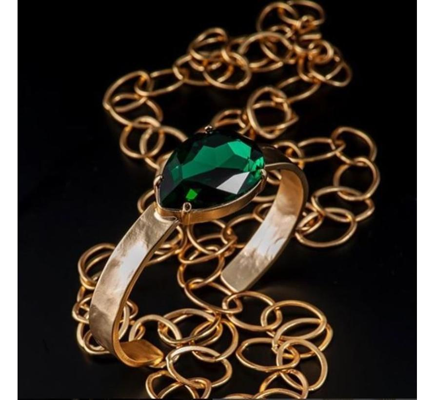 BudtoRose armband Noble Green Gold