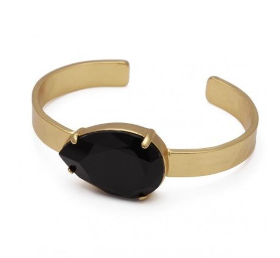 BudtoRose armband Noble black Gold