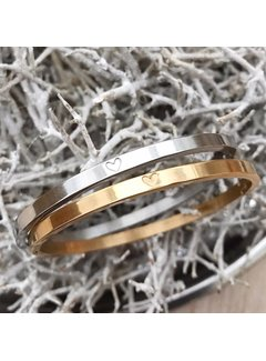 Kywi Jewelry Armband Bangle Hart