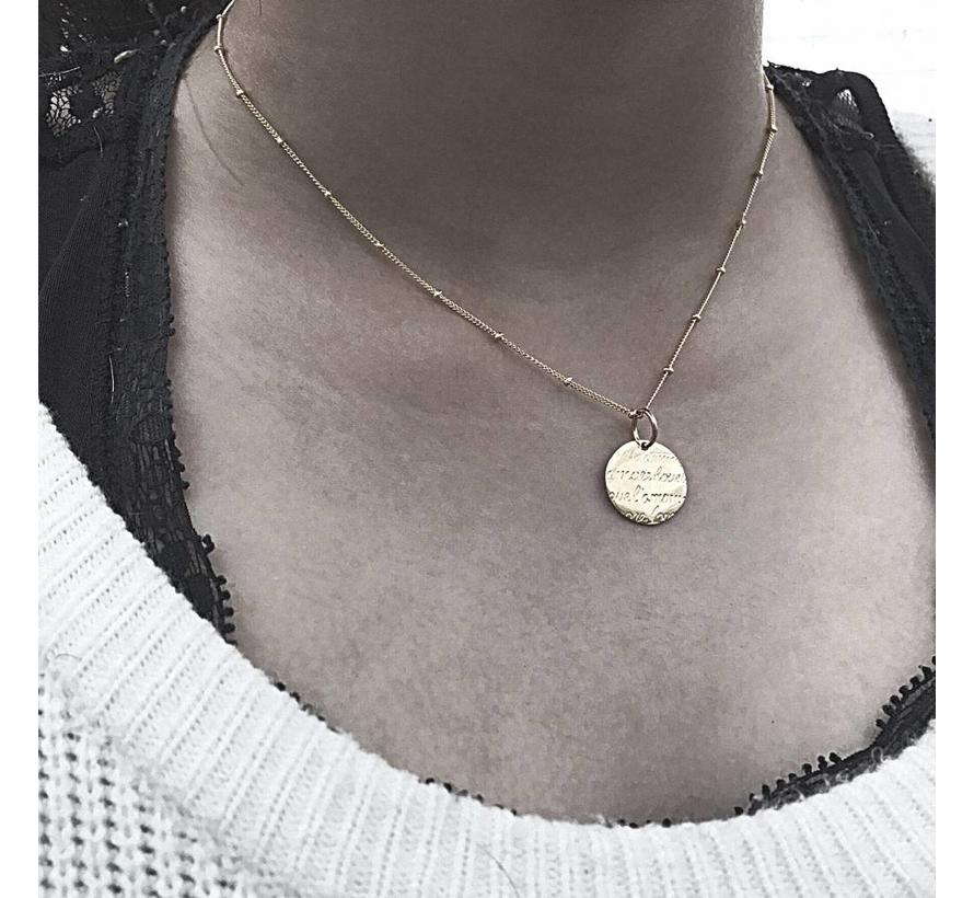 Ketting Amore Love 925 zilver