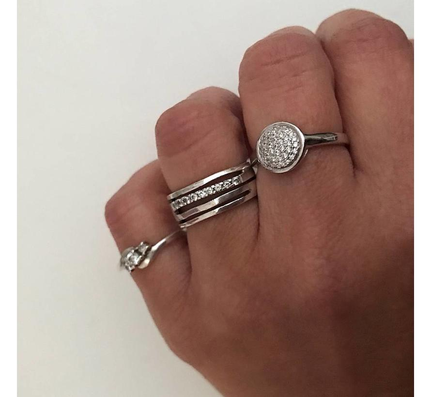 Ring Thousand Stones 925 zilver