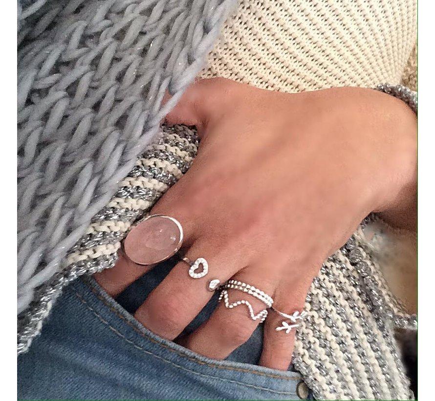 Ring Bolletjes 925 zilver