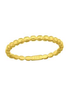 Kywi Jewelry Ring Bolletjes Verguld 925
