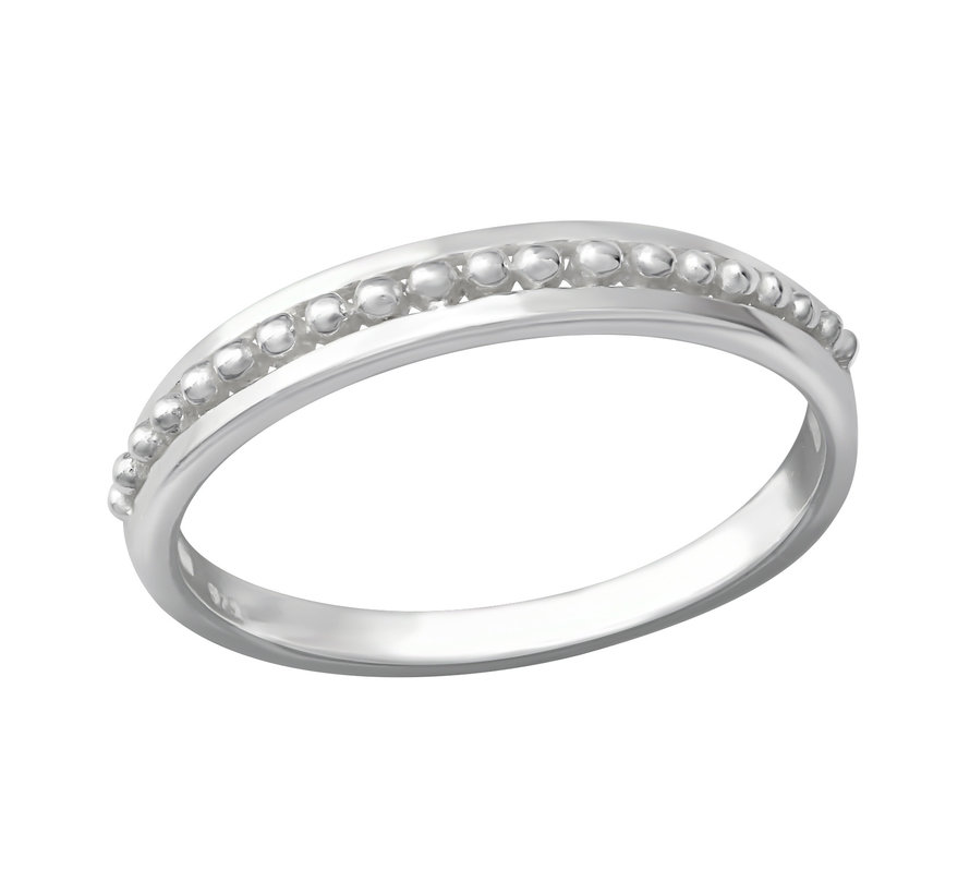 Ring Pattern 925 zilver