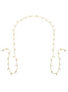 Zonnebrillenkoord little leafs - goud of zilver