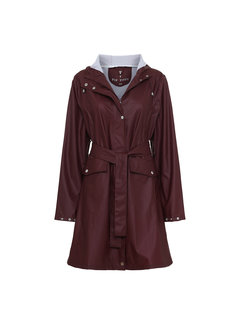 TIF TIFFY REGENJAS Regenjas French Rainjacket Bordeaux