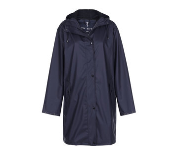TIF TIFFY REGENJAS Regenjas Marina Long Rainjacket Navy