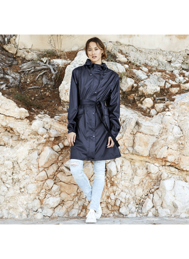 Regenjas French Rainjacket Navy