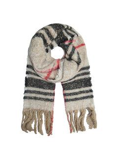 Kywi Jewelry Sjaal beige ruit winterwarm