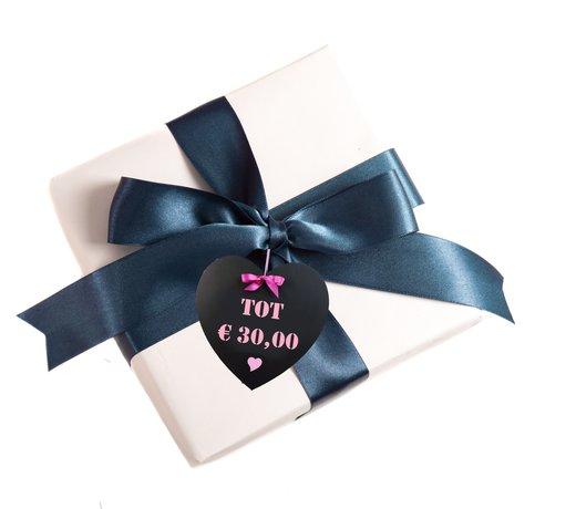 Cadeautips tot € 30,00