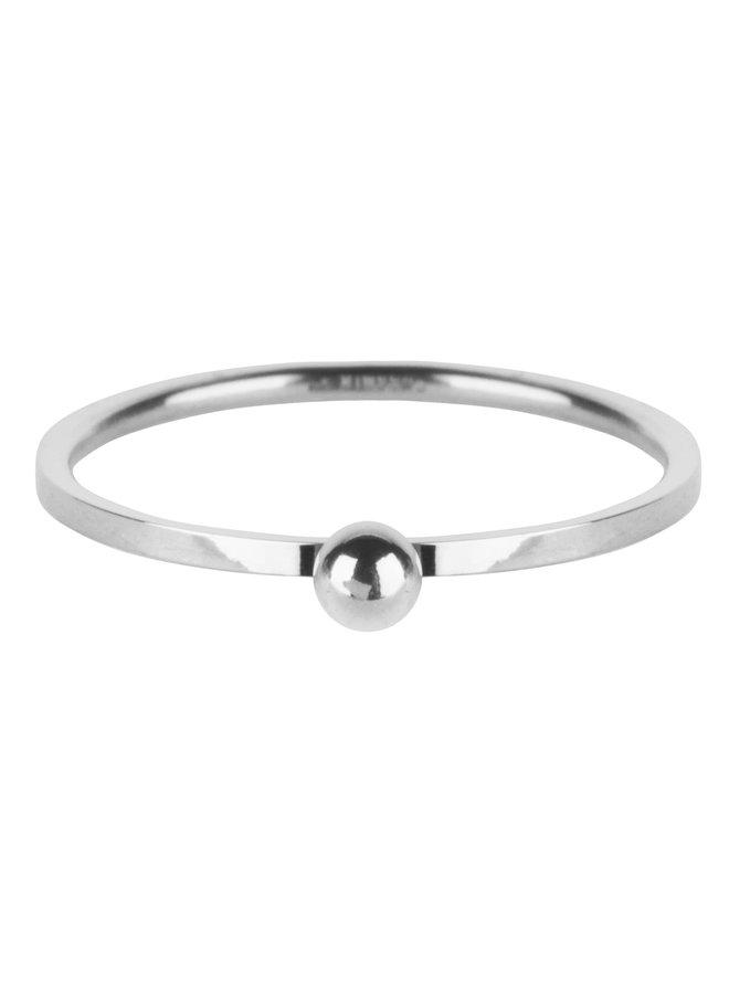 Dot Ring Shiny Steel R528