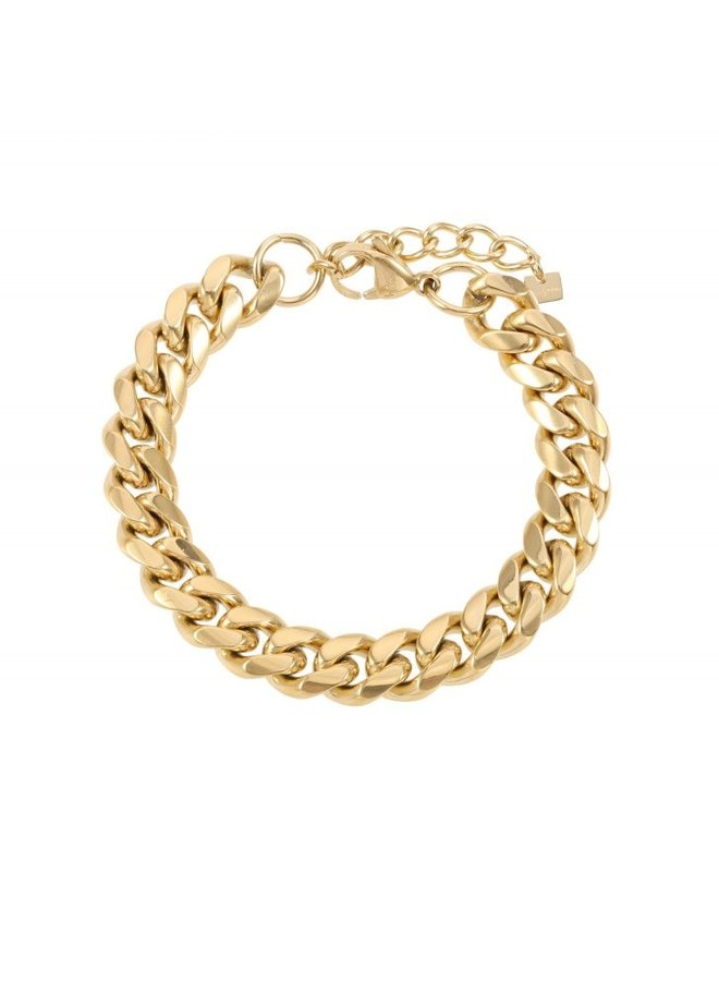 Armband Goud steel Chains - By Jam