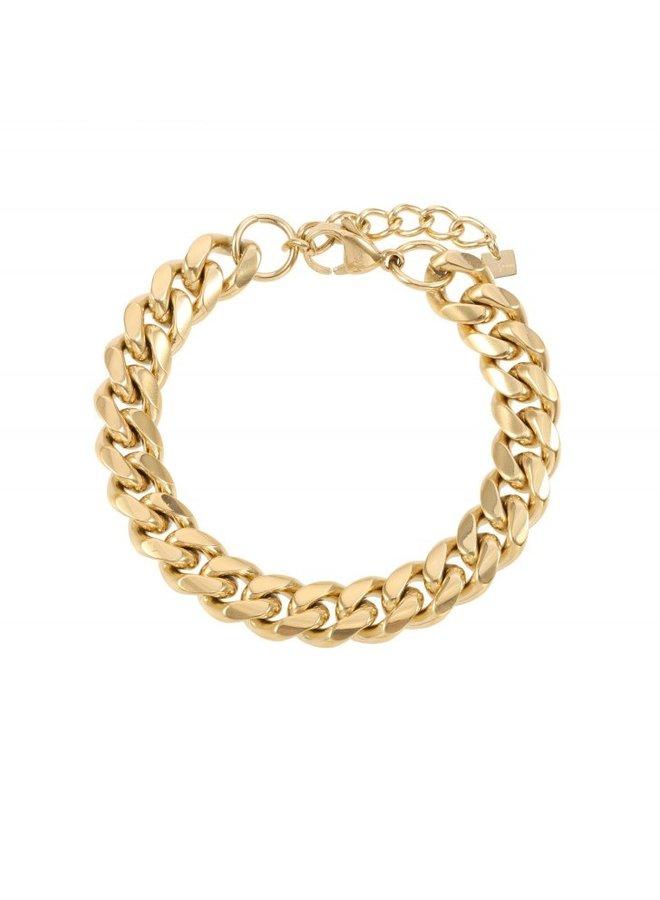 Armband Goud steel Chains - By Jam  ♥ Kies je bedel