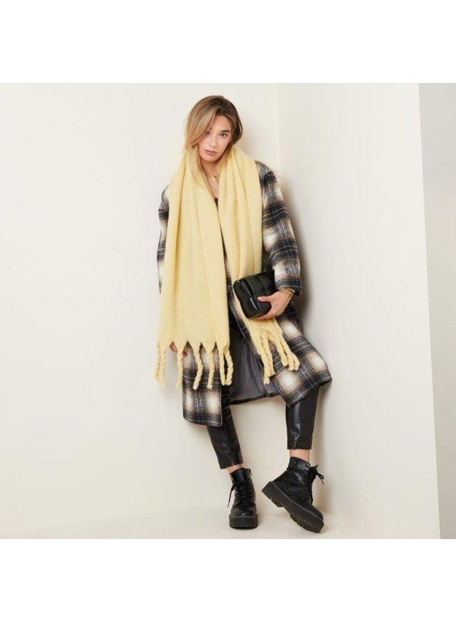 Sjaal effen Geel