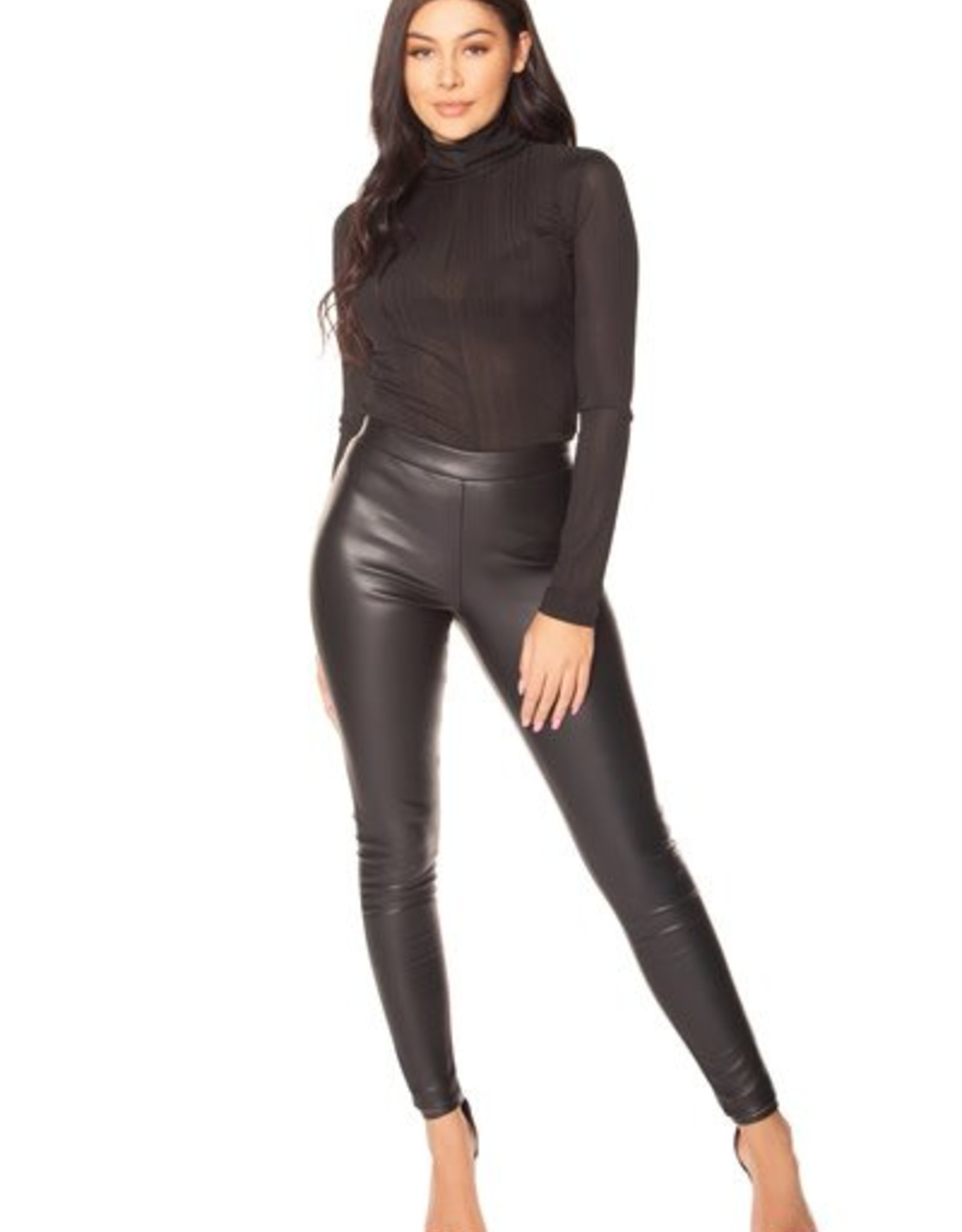 LA Sisters Faux Leather Legging