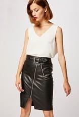 Morgan PU Leather Skirt