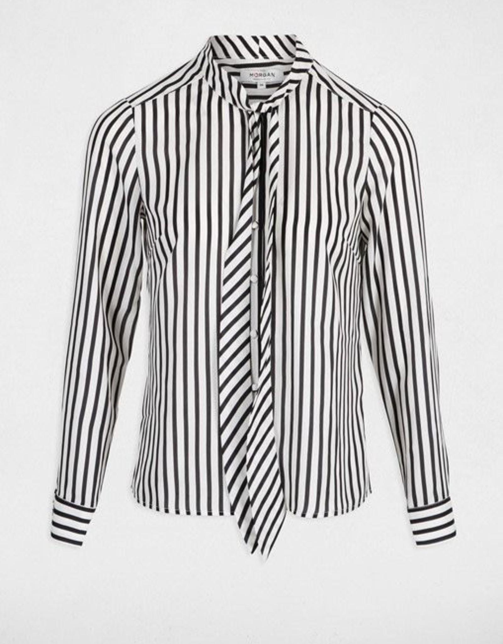 Morgan Striped Blouse