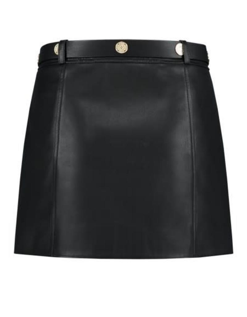 Kate Moss Mali Motor Skirt Black