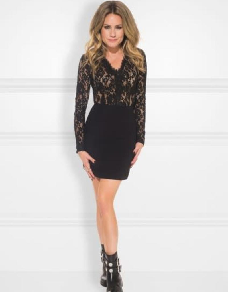 Kate Moss Rumi Dress Black
