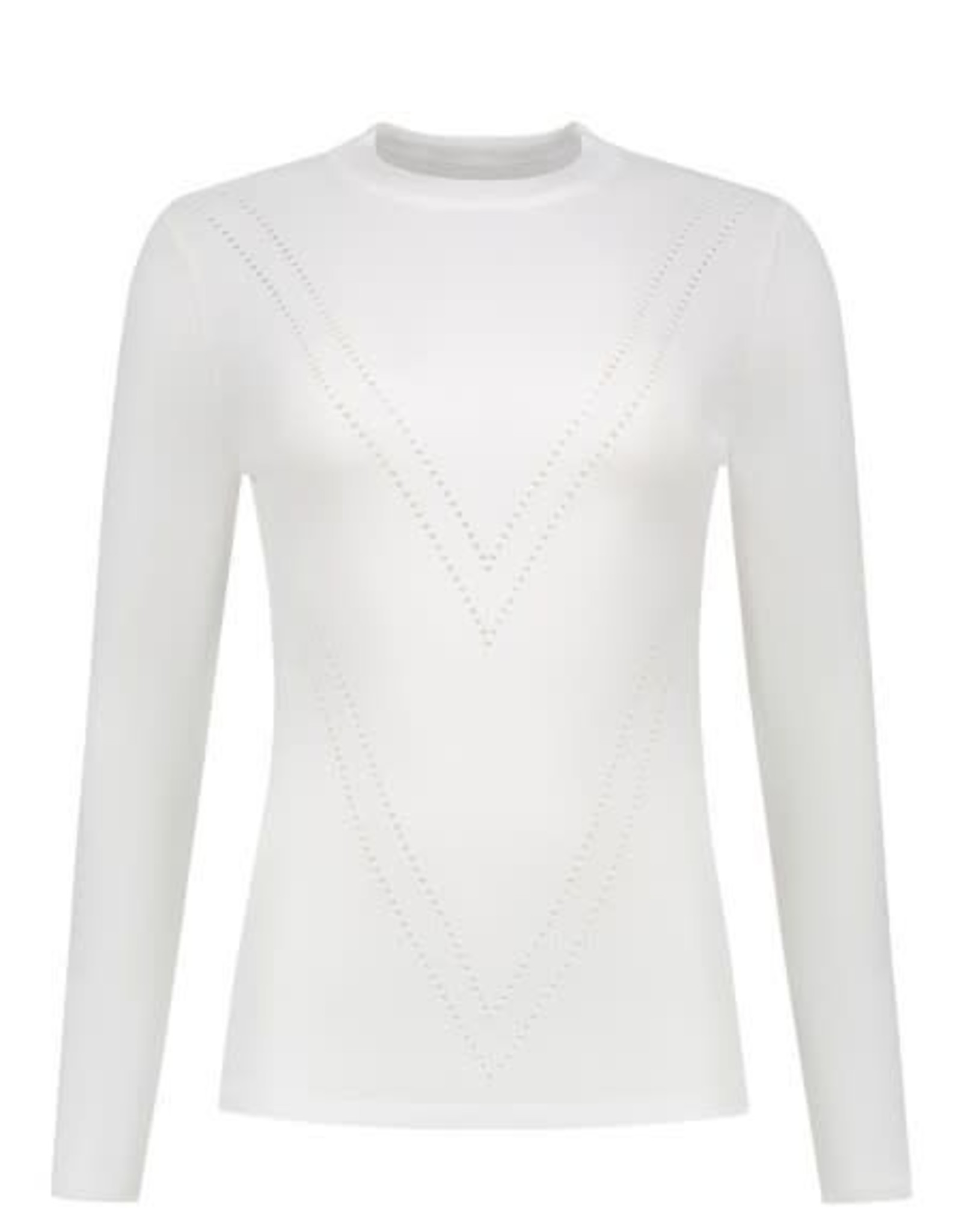 Nikkie Patty Top Solid Off white