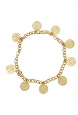 Nikkie Coin Necklace Gold