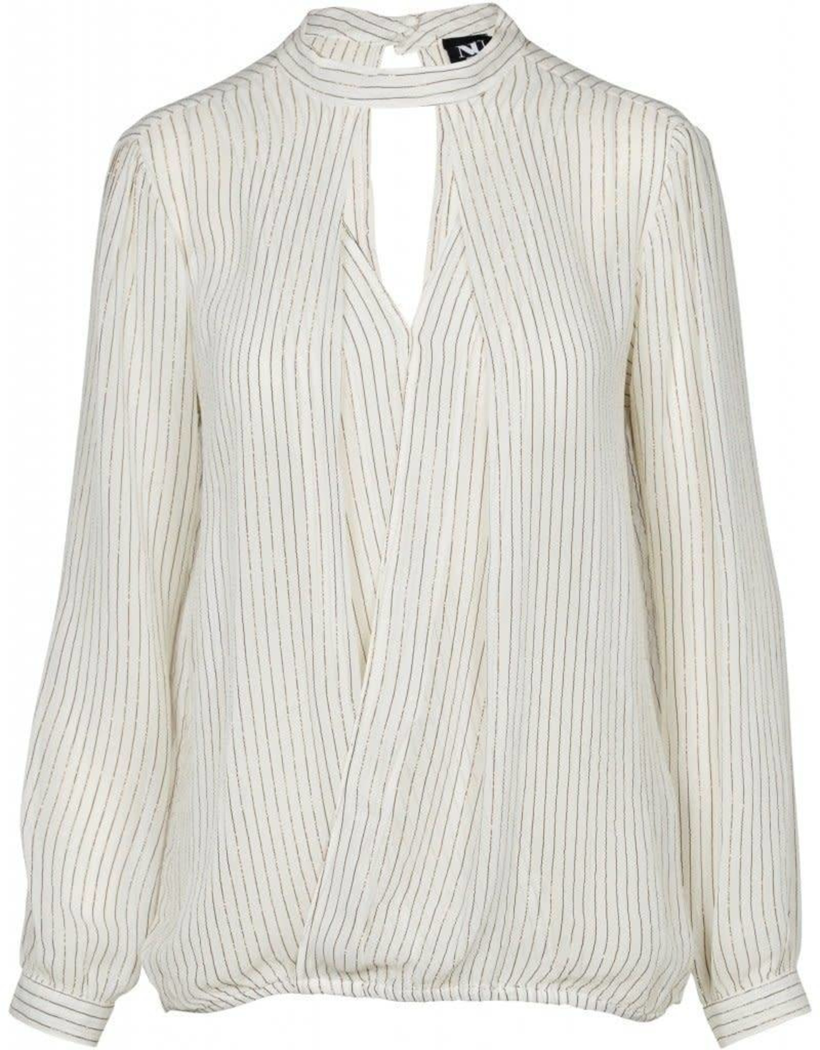 NÜ Denmark Striped Blouse