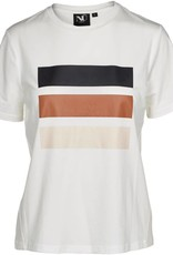 NÜ Denmark T-Shirt With Stripe Print 5956-50