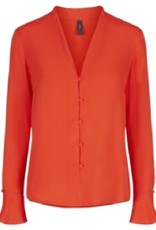 Y.A.S Fiery Red Blouse