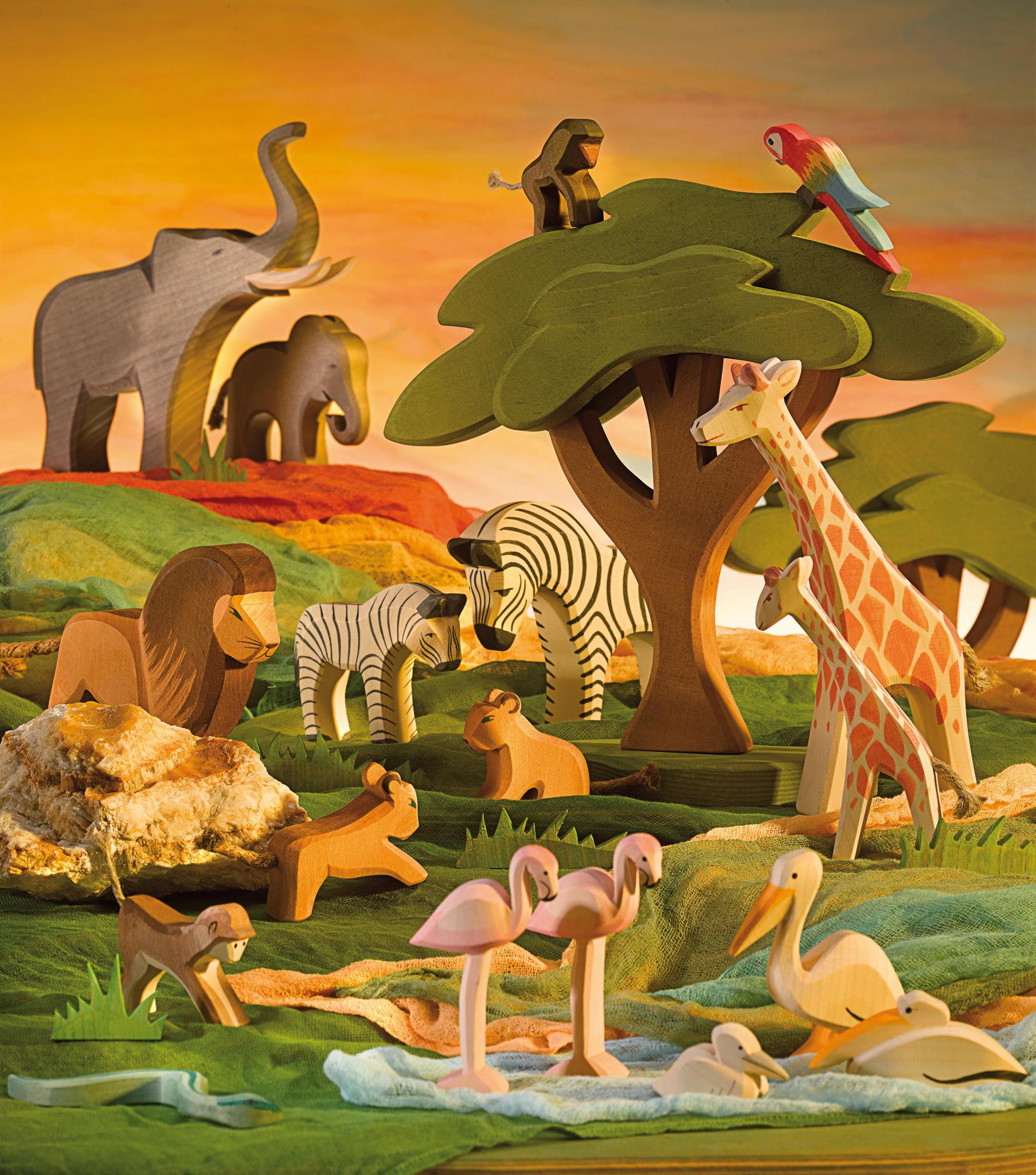 ostheimer houten dieren