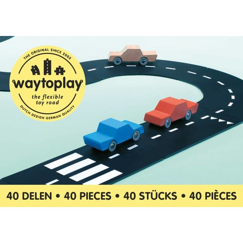 Waytoplay Waytoplay King of the Road set 40-delig