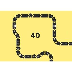 Waytoplay Waytoplay King of the Road set 40-delig