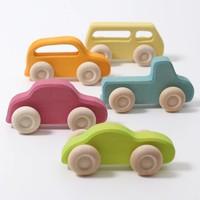 Grimms set houten auto's slimline