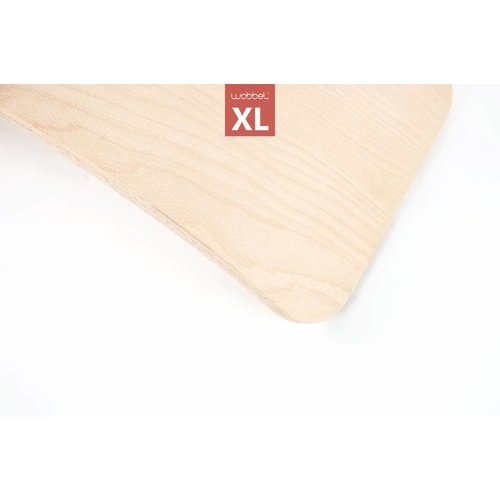 Wobbel Wobbel XL Blank Gelakt Zwart