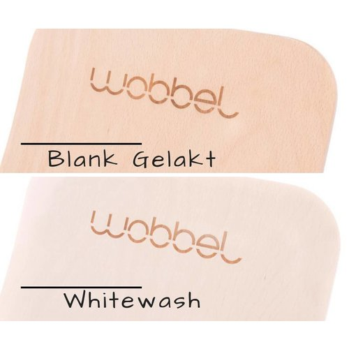 Wobbel Wobbel Original Whitewash Zwart
