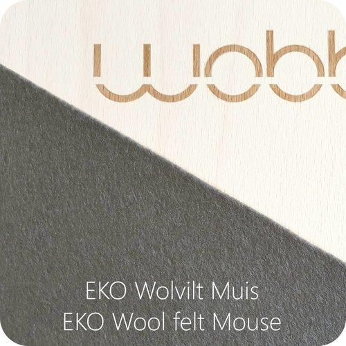 Wobbel Wobbel Original Whitewash Muis