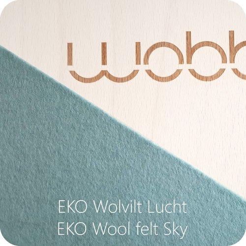 Wobbel Wobbel Original Whitewash Lucht