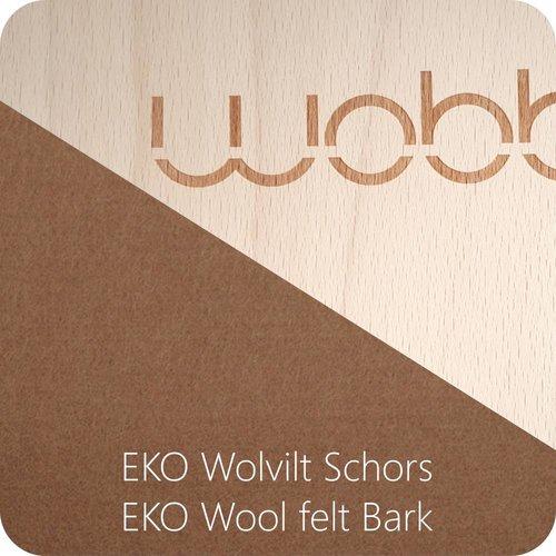 Wobbel Wobbel Original Blank Gelakt Schors