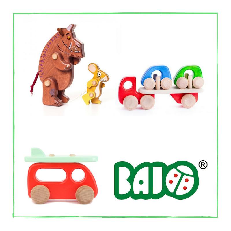 Bajo houten speelgoed bij Hout en Plezier