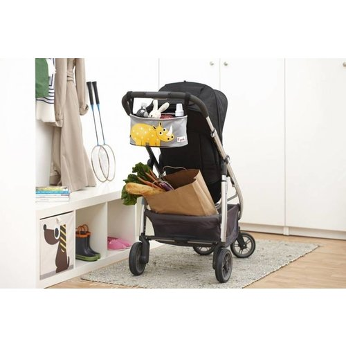 3 Sprouts 3 Sprouts Wandelwagen organizer Olifant