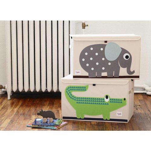 3 Sprouts 3 Sprouts Speelgoedkist Nijlpaard