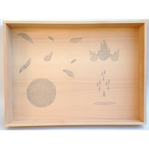 Grapat Grapat Houten Speelbox / Play Tray