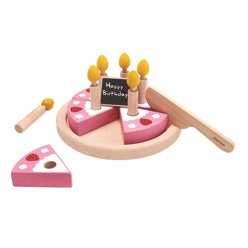 Plan Toys Plan Toys Verjaardagstaart Set