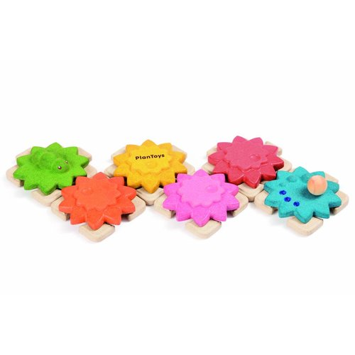 Plan Toys Plan Toys Tandwielen Puzzel