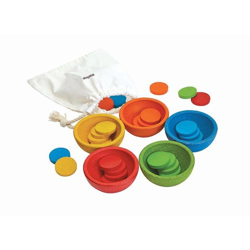 Plan Toys Plan Toys Sorteer- en telbakjes