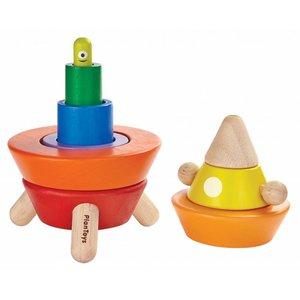 Plan Toys Plan Toys Sorteer Stapel Raket