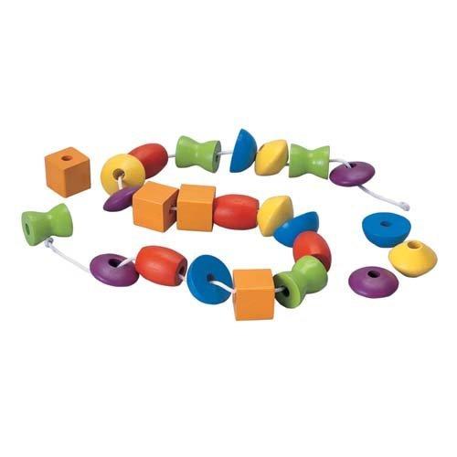 Plan Toys Plan Toys Houten Rijgkralen